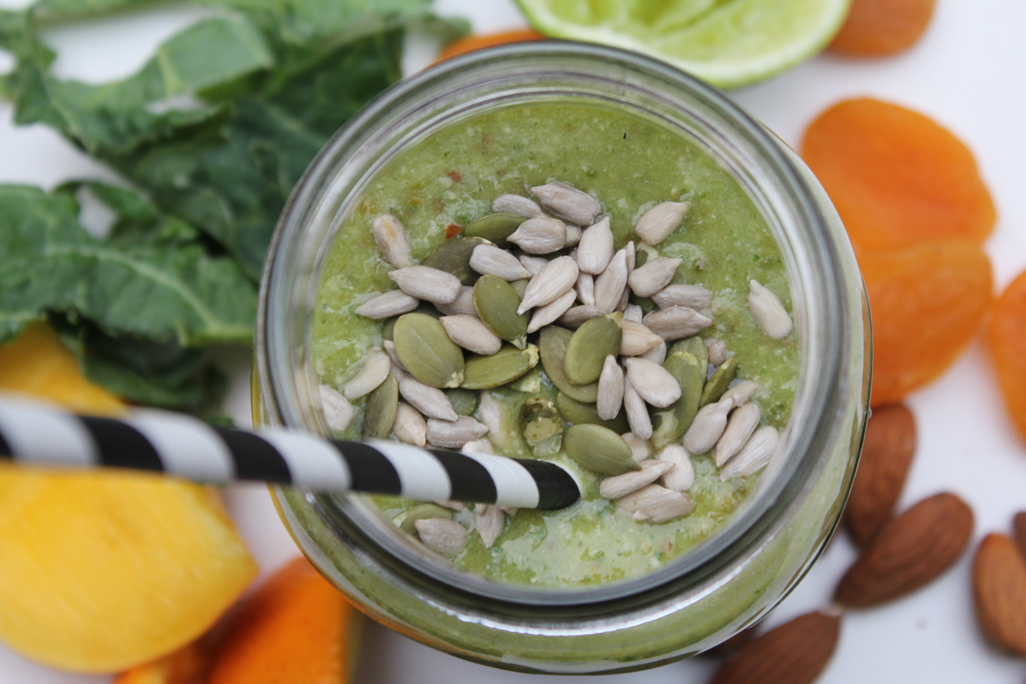 Iron and vitamin C rich smoothie