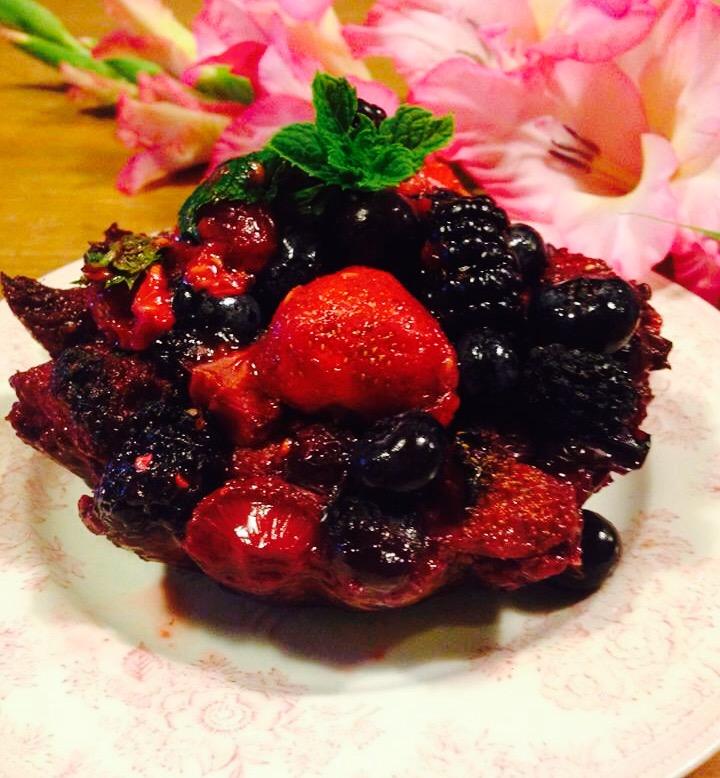 Wild Berry Tart : A Summer Taste Sensation