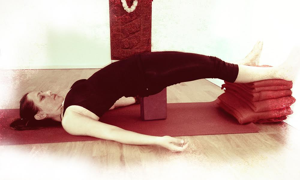 Pamper Yourself with Yin Yoga during your Moon Days.